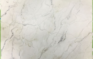 Faux White Carrera Marble