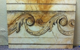 Faux Marble and Trompe L'ieol