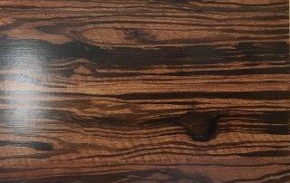 Faux Dark Ebony Wood