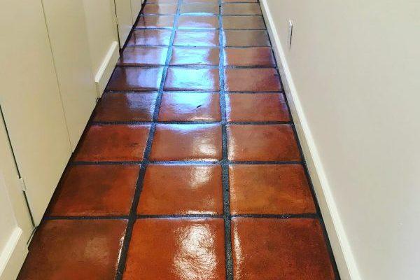 Saltillo Tile Hallway