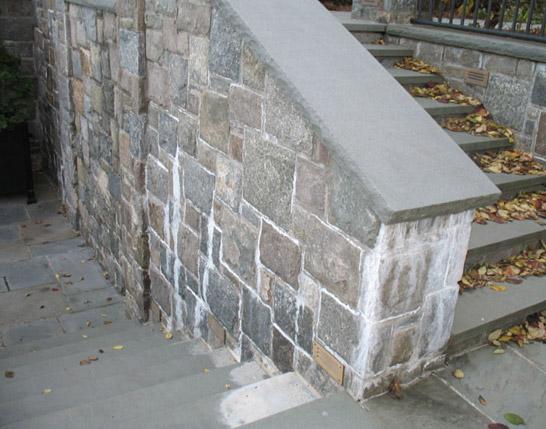 Natural Stone Damage: Efflorescence