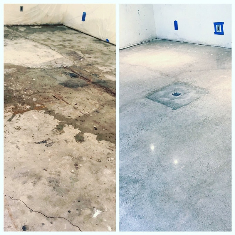 Concrete-Before-and-after