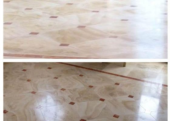 Diamon-Pattern-Floor-Before-and-After-