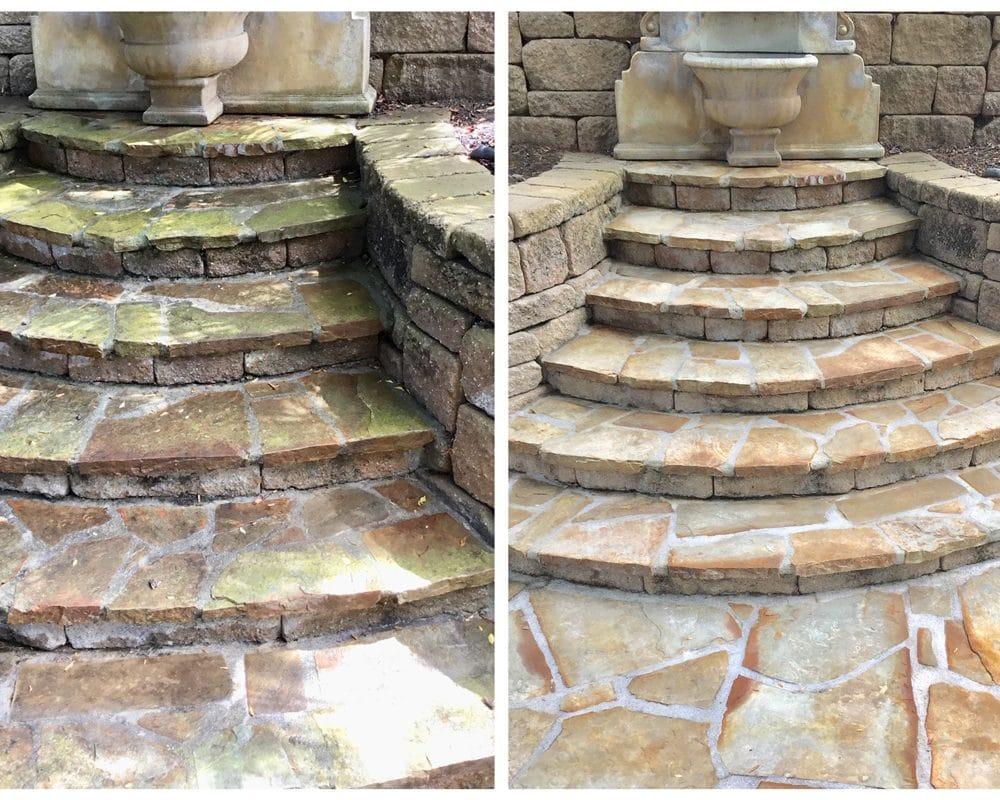 fountain-steps
